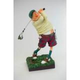 """Скульптура """"Игрок в гольф"""""""