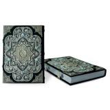 Коран на арабском языке с филигранью и топазами