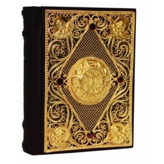Православный молитвослов (филигрань, золото, гранаты)