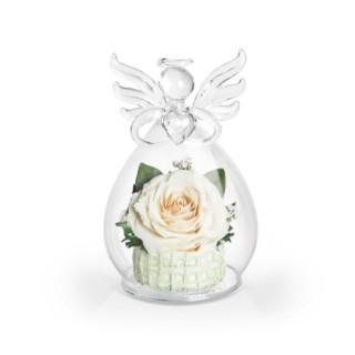 """Композиция из розы """"Ангел с сердцем"""""""