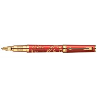 Ручка 5й пишущий узел Parker Ingenuity L F502 Red Dragon GT